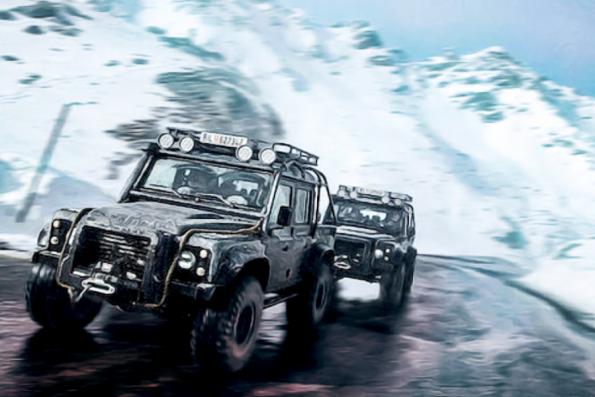 Bonhams auctioning Spectre Land Rover