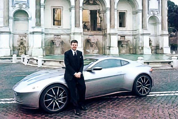 How to be a James Bond stunt driver