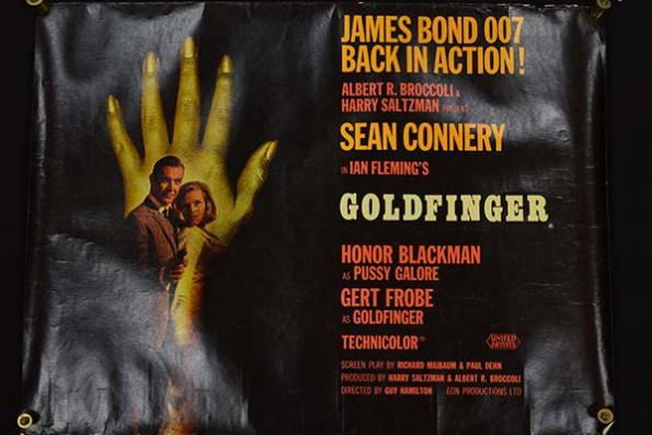 Rare Bond poster sells for £6,700