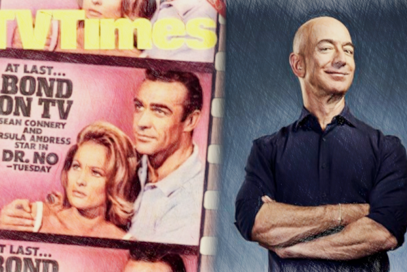"""""""Who are you?""""  """"Jeff Bezos"""" """"I must be streaming"""""""