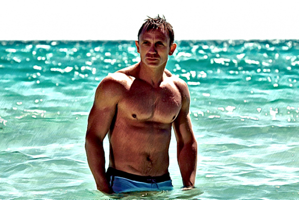 """""""I've got a little itch — down there. Would you mind?"""" — looking back on Casino Royale '06"""